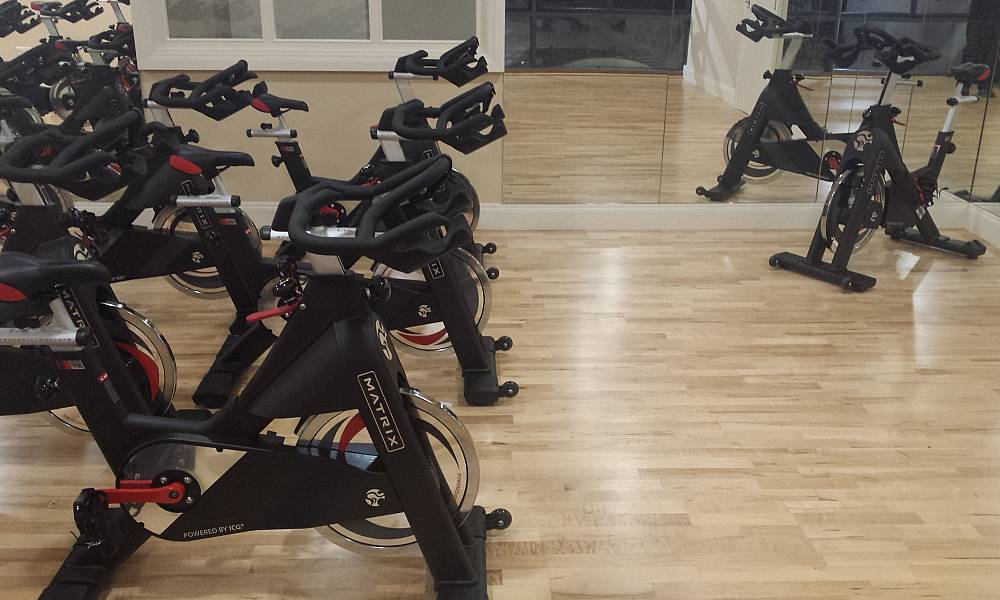 OUR FITNESS STUDIO