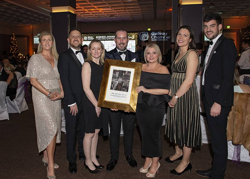 PRESS: Connacht Hotel honoured for 50th anniversary campaign at Galway Chamber Business Awards