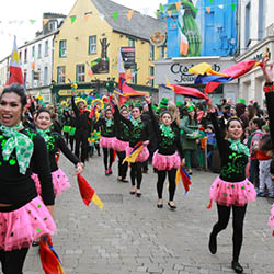 St Patricks day in Galway