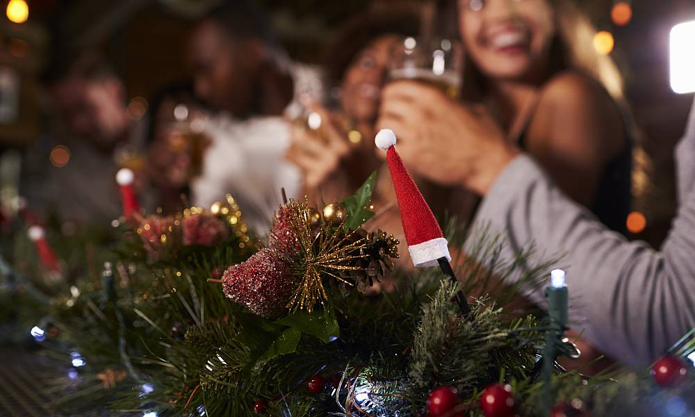 Christmas Parties: €45.00 per person